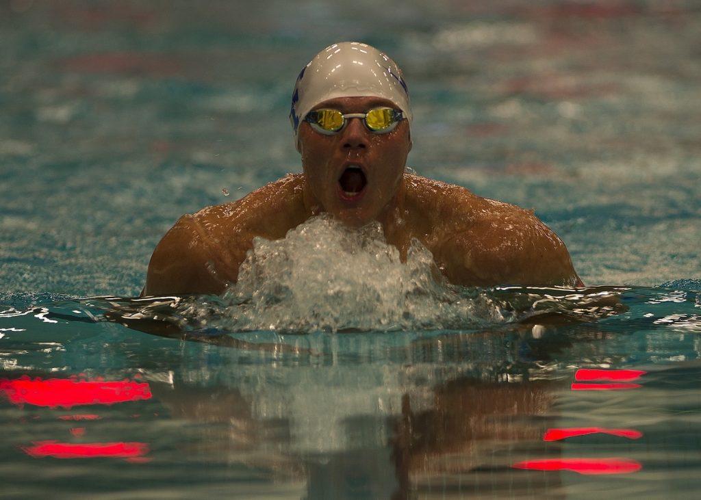 Male Swimming